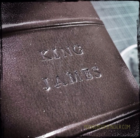 king james bible by youngbookbinder