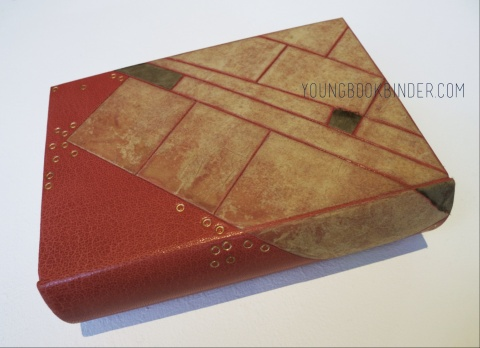 full leather binding 03 by youngbookbinder
